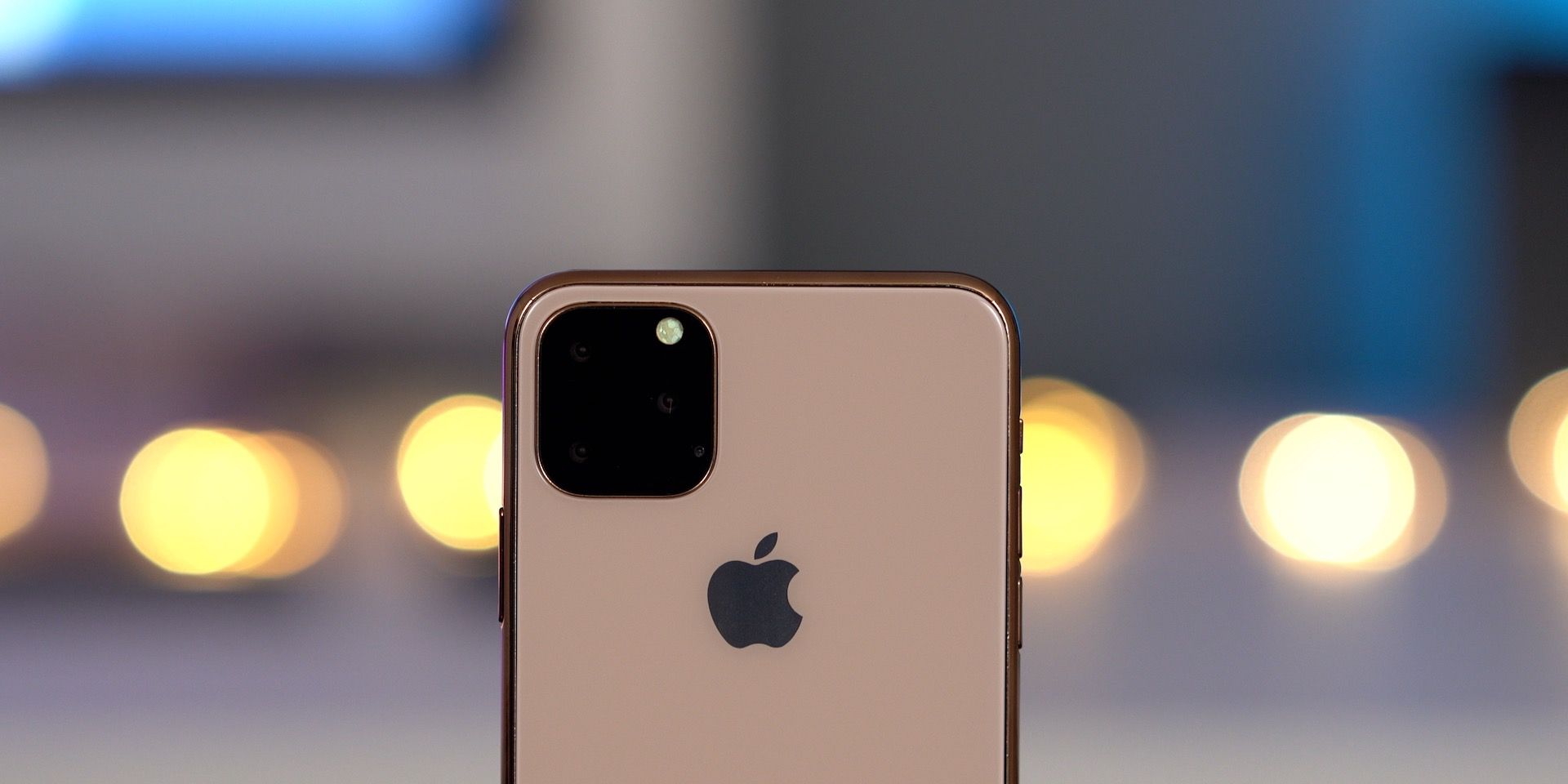 Maquete do iPhone 11