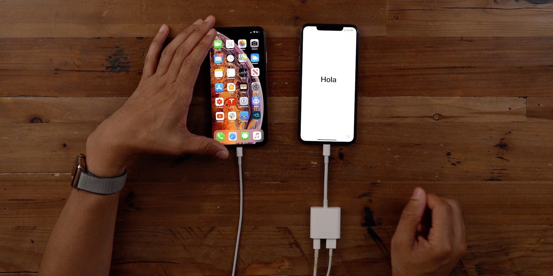 iPhone migration Lightning Cable