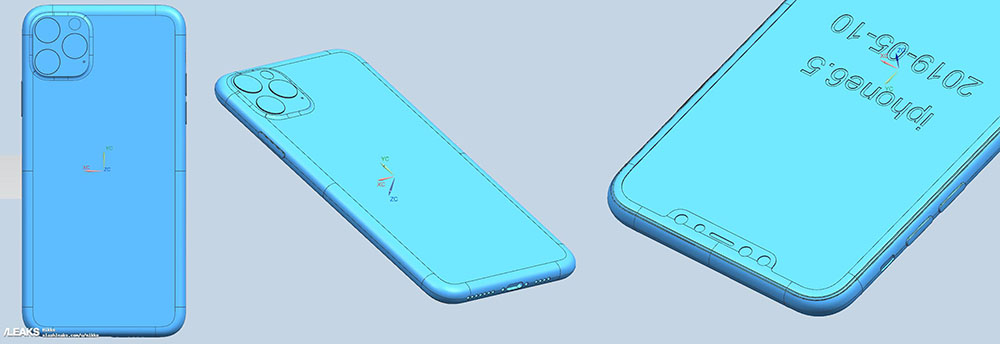 Claimed iPhone 11 Max render