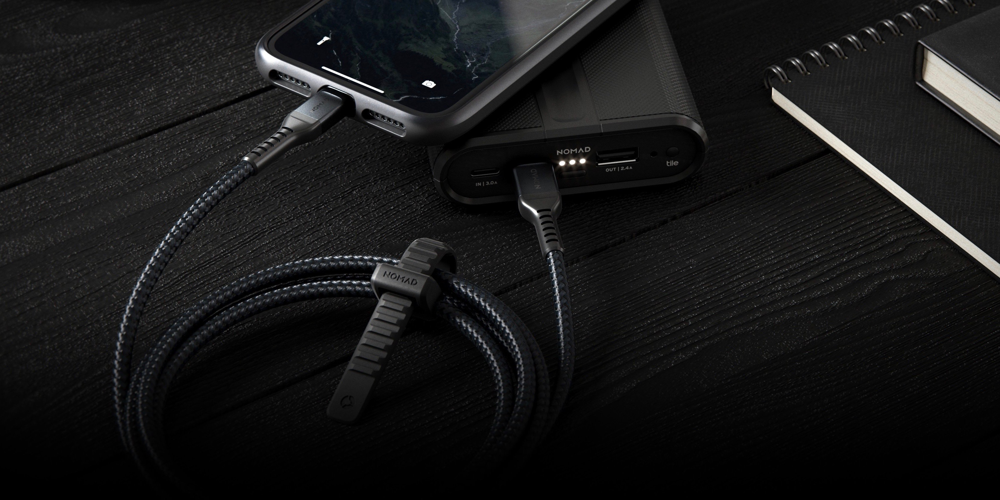 USB-A to Lightning 1.5 Meters Nomad Lightning Cable
