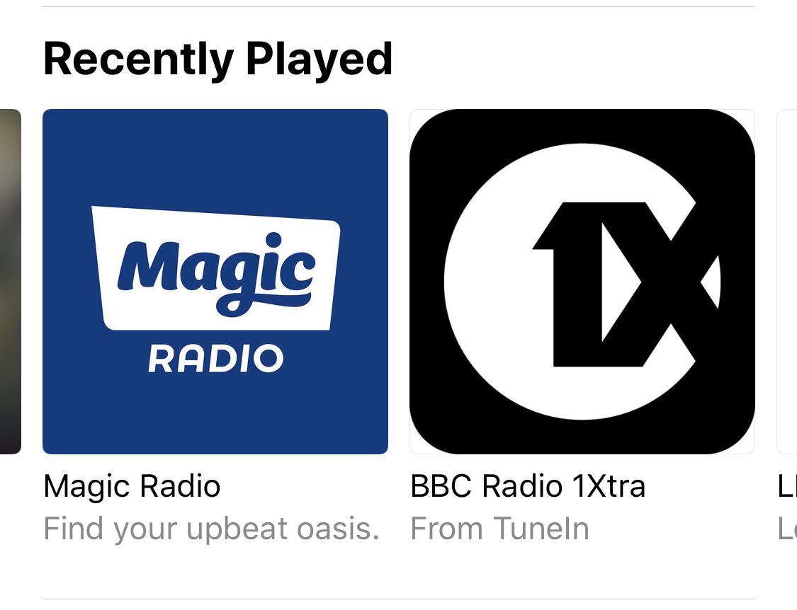 Apple starts to roll out support to play 100,000 radio