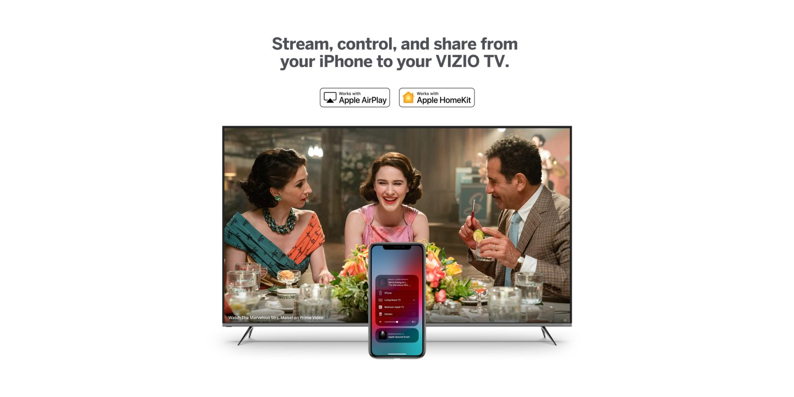 Vizio now rolling out AirPlay 2 and HomeKit support to its