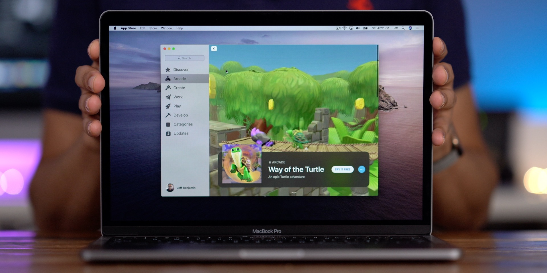 Apple Arcade MAS Way of the Turtle