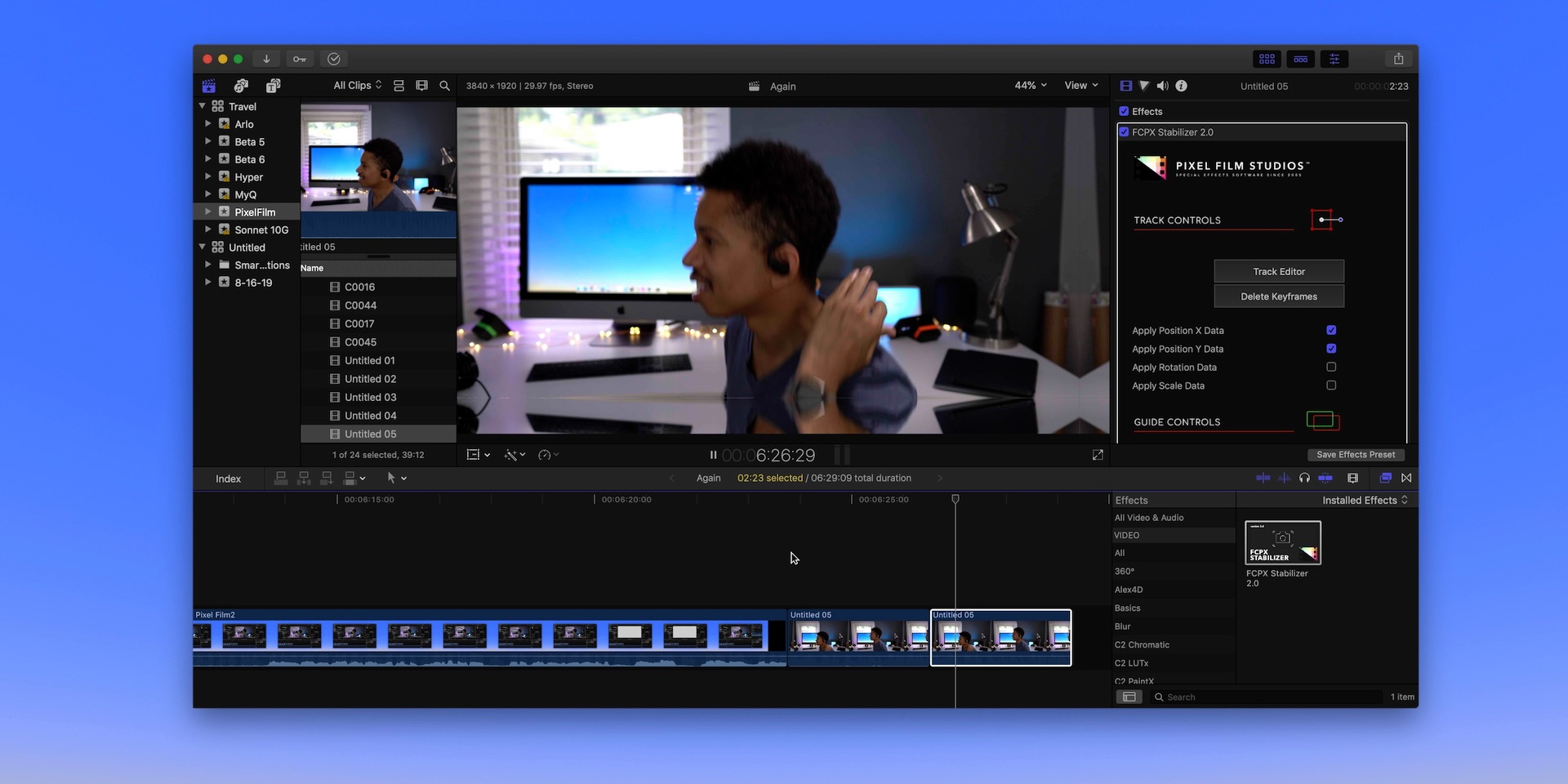 Hands-on: FCPX Stabilizer 2 0 - amazing stabilization for