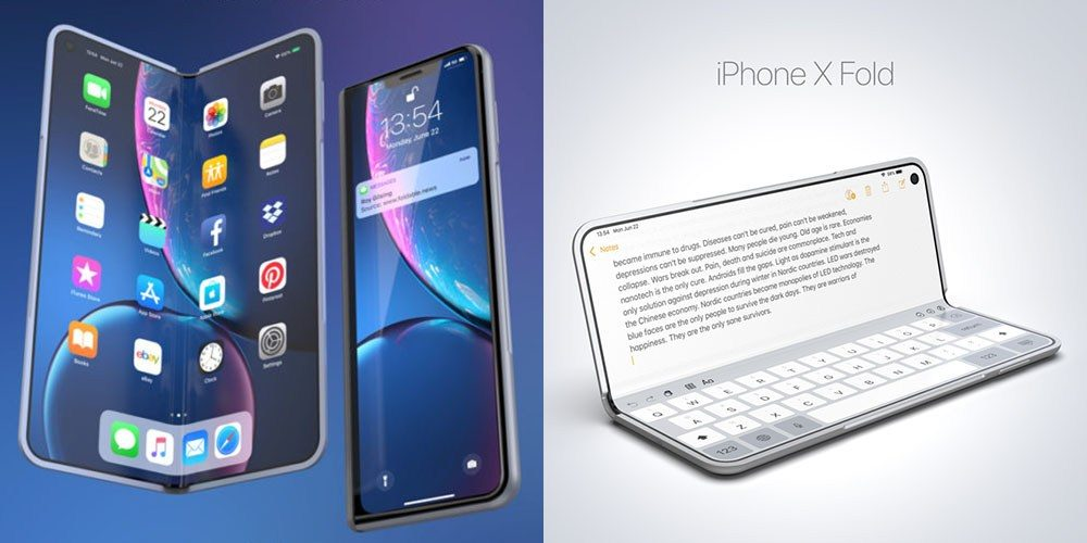 Folding iPhone Coming, Says UBS, with Folding iPad First, Likely in 2021