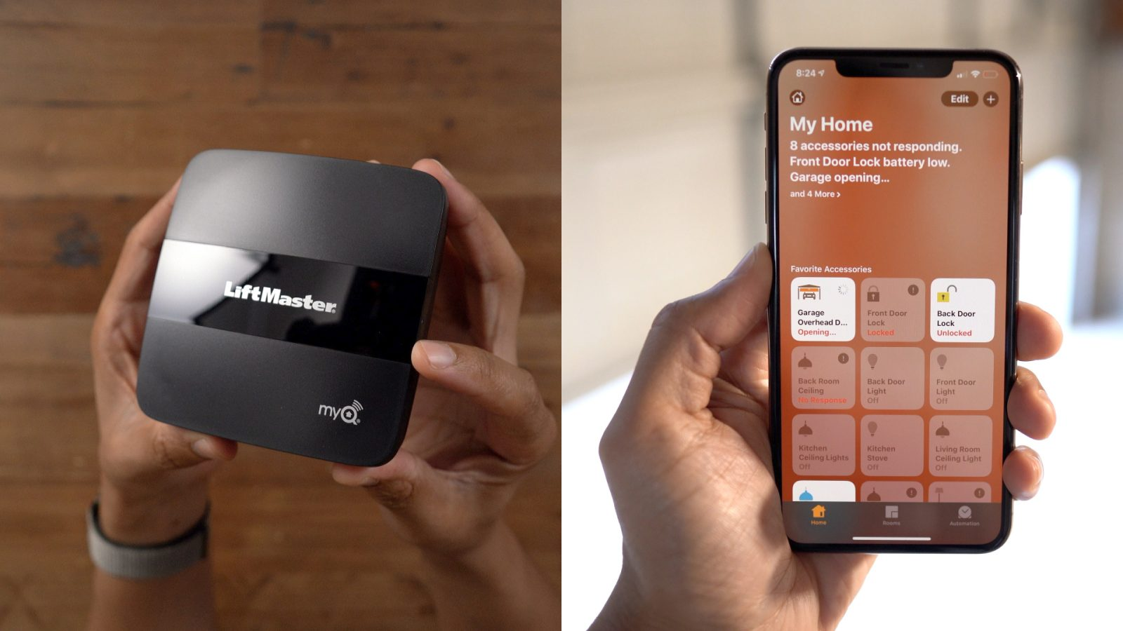 Hands-on: Adding HomeKit to a garage door with the MyQ Home Bridge [Video]
