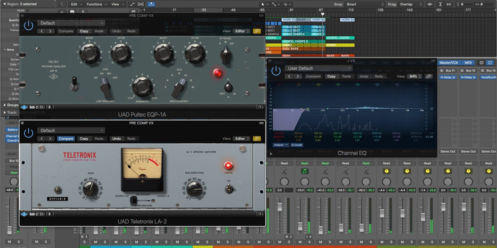Logic Pros: Organize your workflow with the Logic Plug-in Link system
