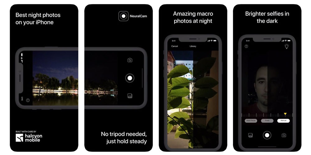 NeuralCam is a new app for taking iPhone photos in the dark