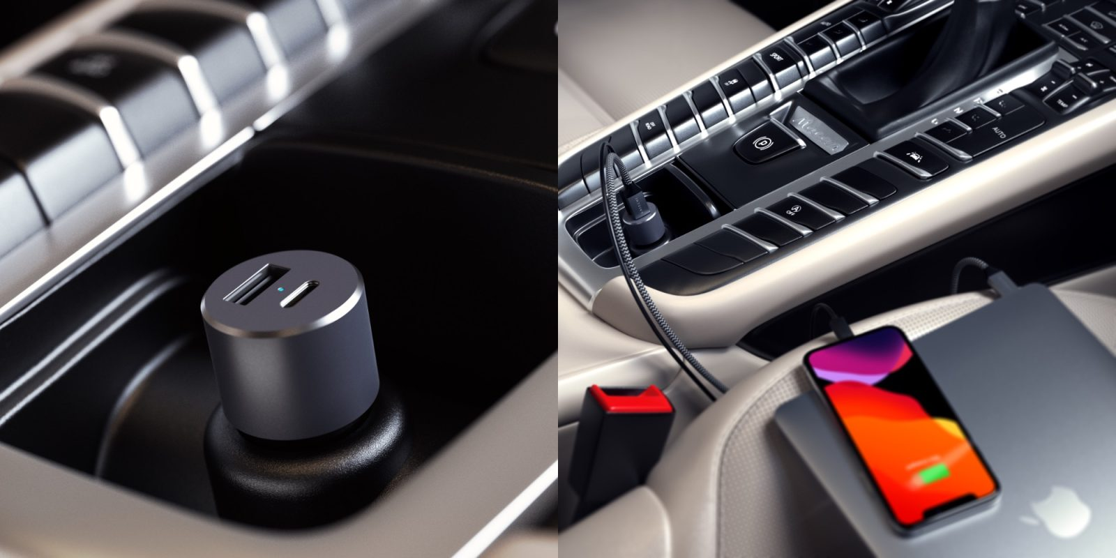 Satechi's 72W USB-C PD car charger can power up MacBooks and iPhones on the road