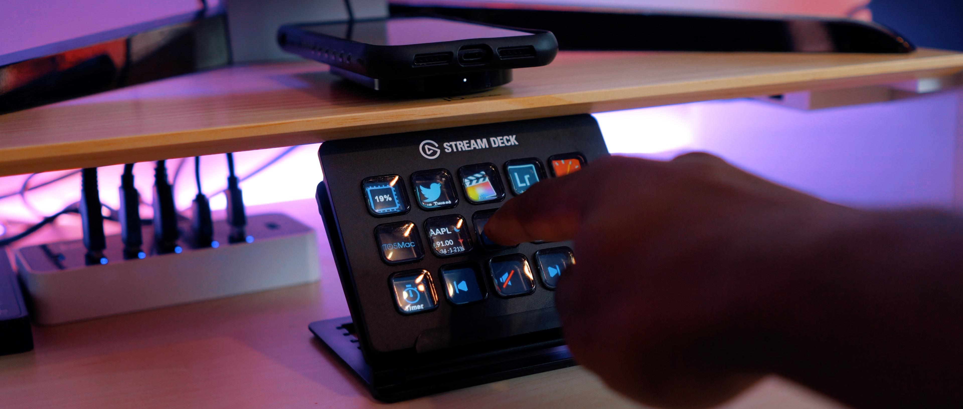 Hands On Elgato Stream Deck Live Streaming Custom Controller Video