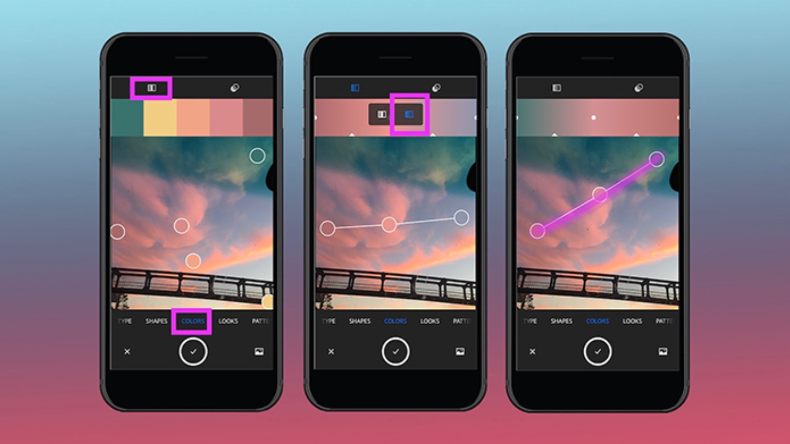 Adobe Capture for iOS Update Lets You Turn your Photos into Custom Gradients