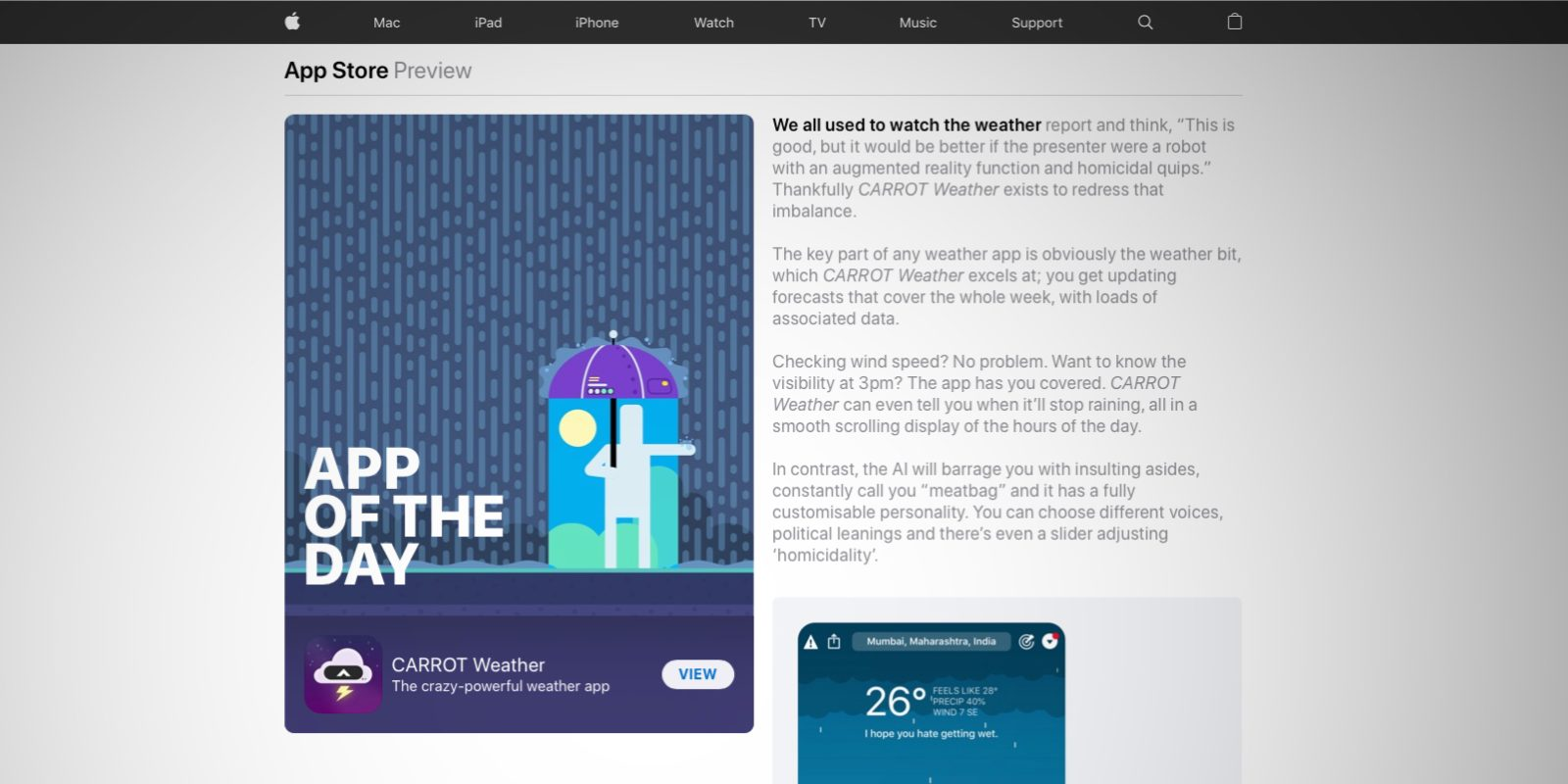 App Store Today editorial stories are now available on the web in full