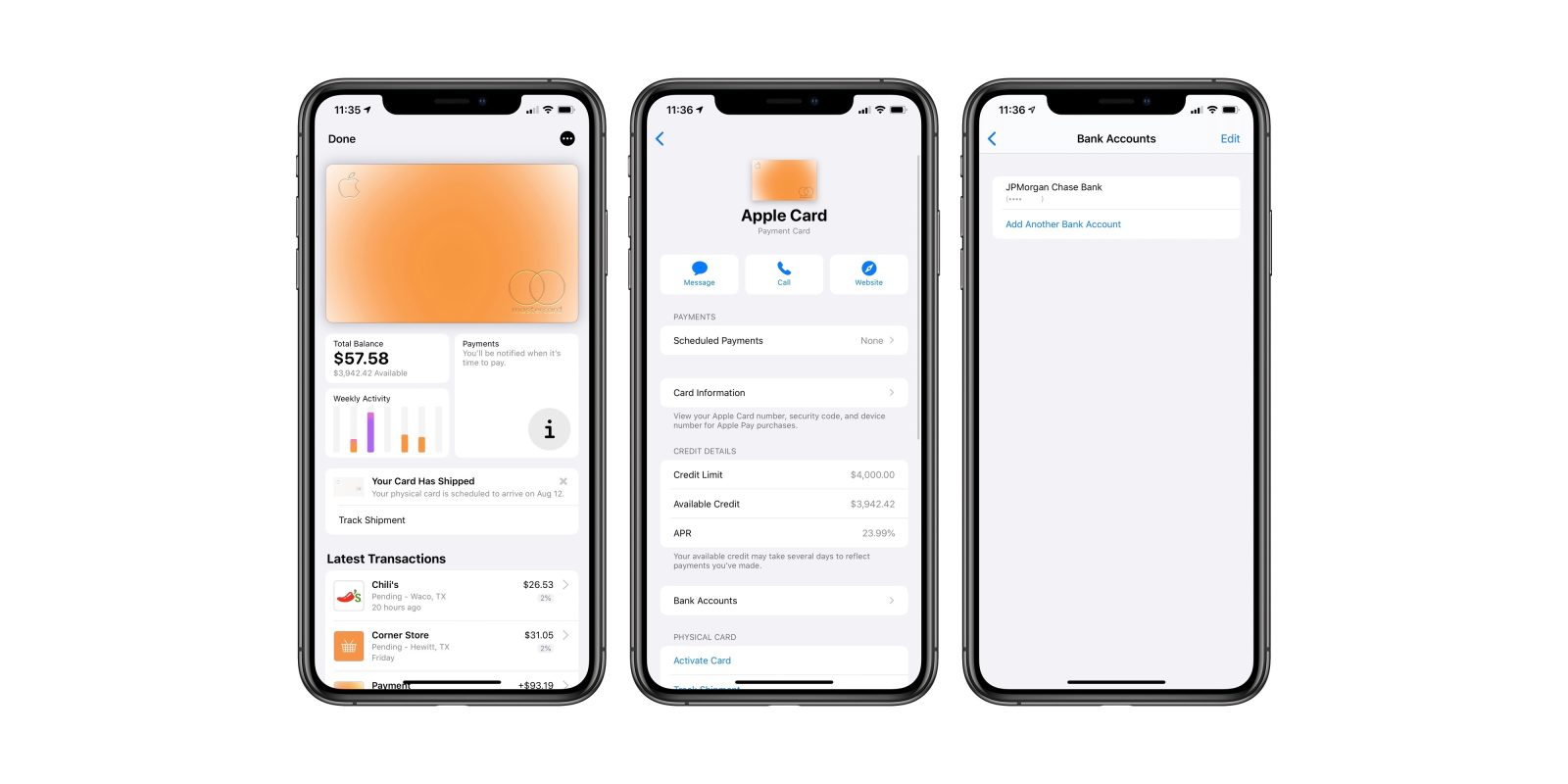Apple Card: How to manage bank accounts used for payments