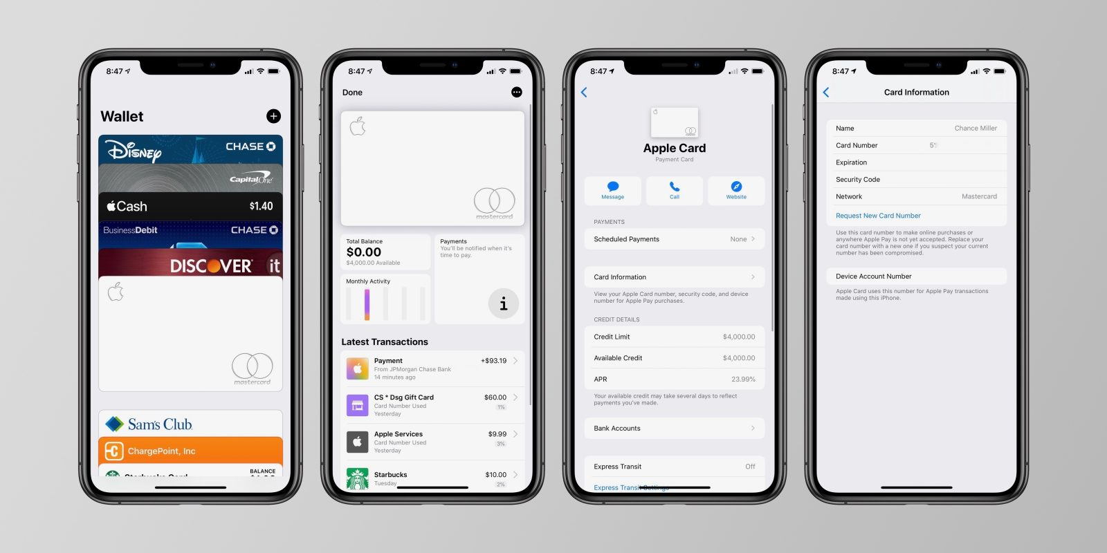 Apple Card: How to view your card number in the Wallet app