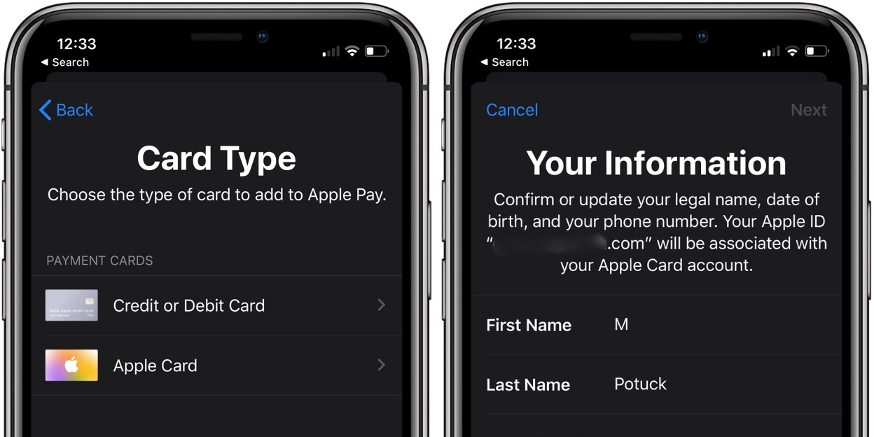 Apple Card improvements for couples