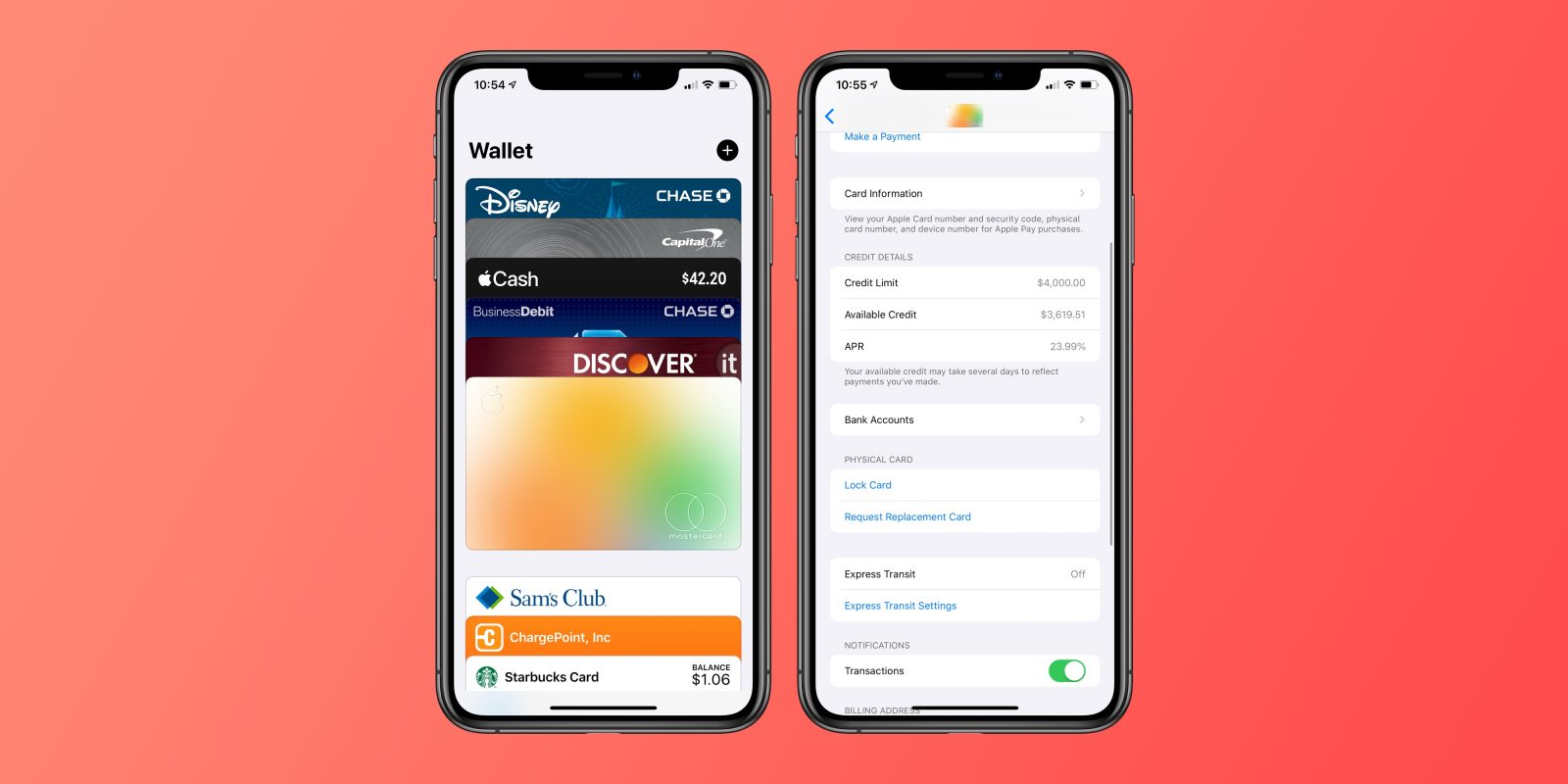 Apple Card: How to lock your physical card with the Wallet app