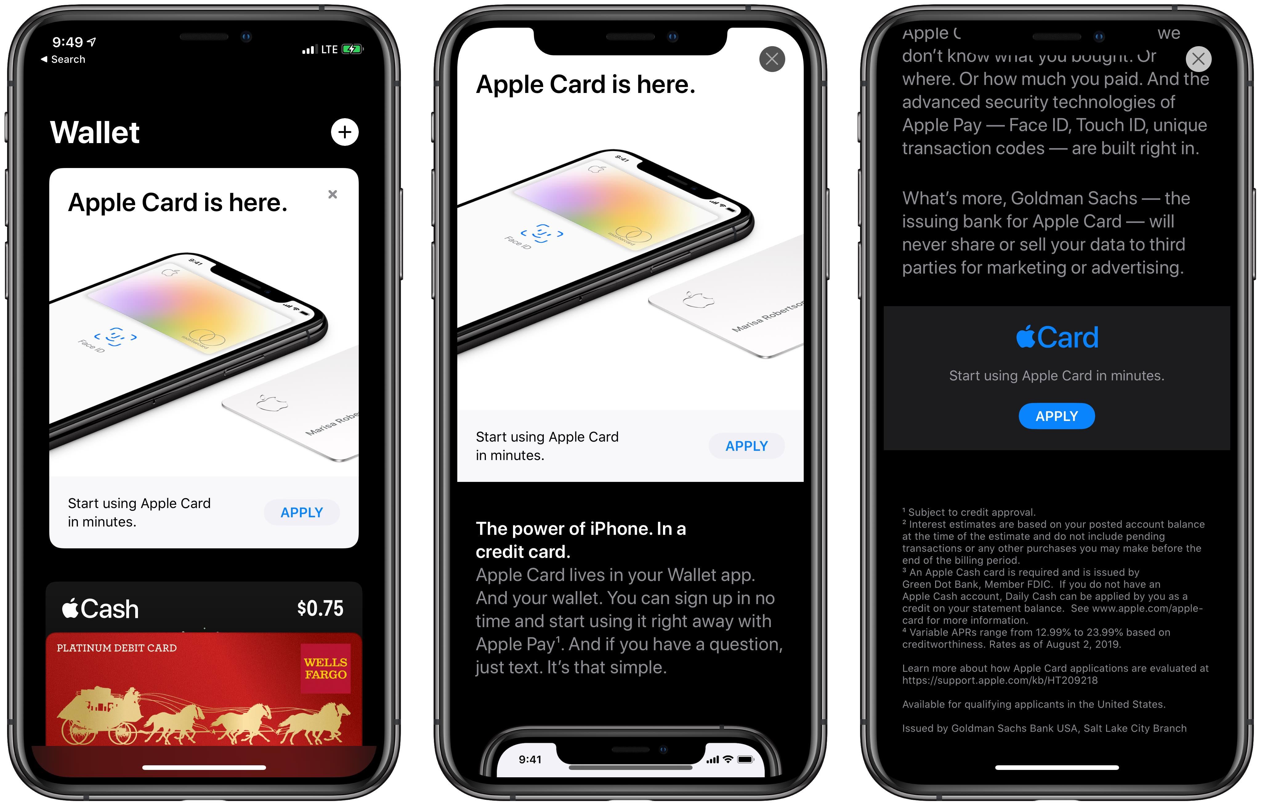 Apple promoting Apple Card in Wallet app