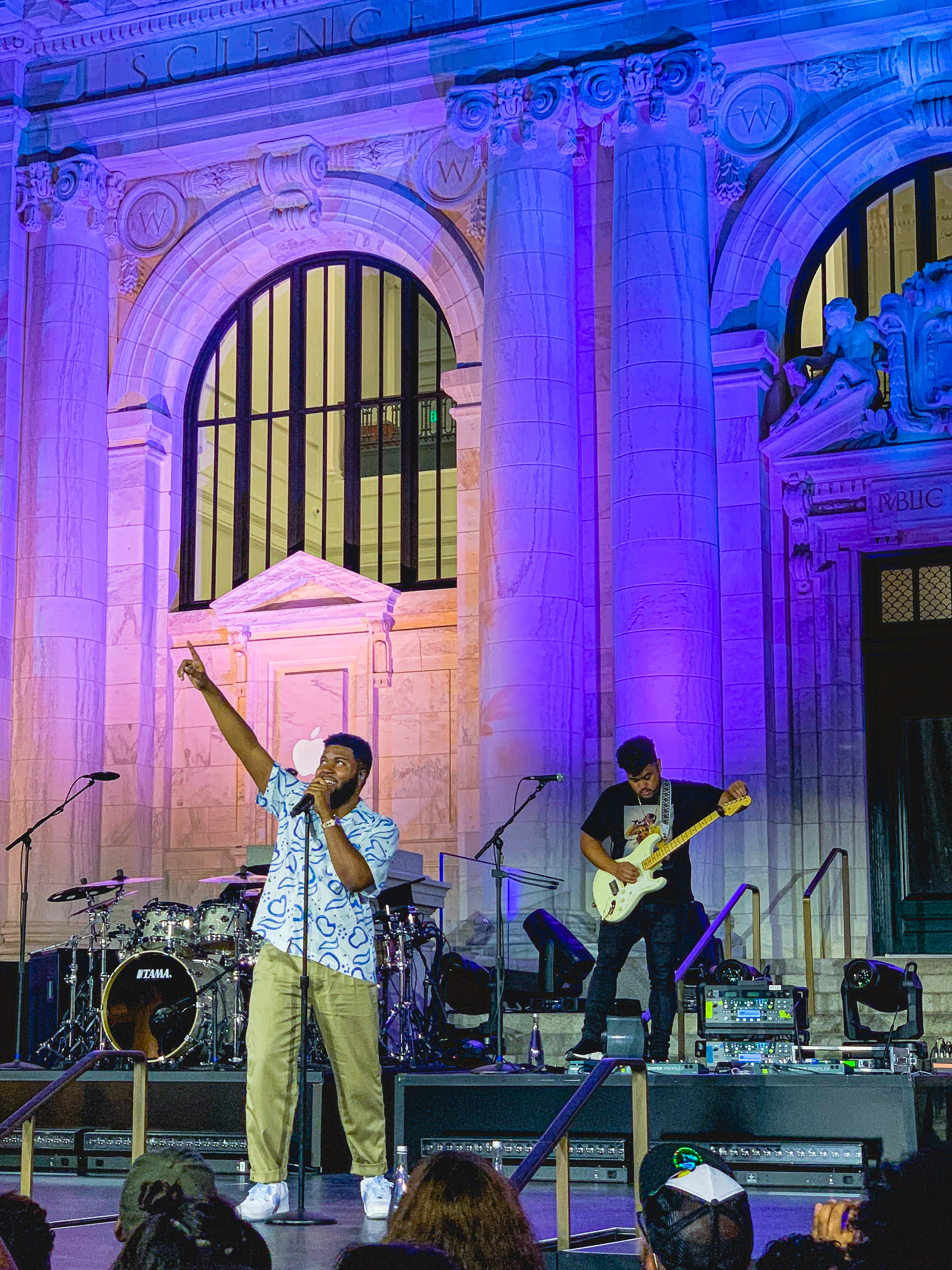 Khalid wraps Up Next Live concert series at Apple Carnegie Library