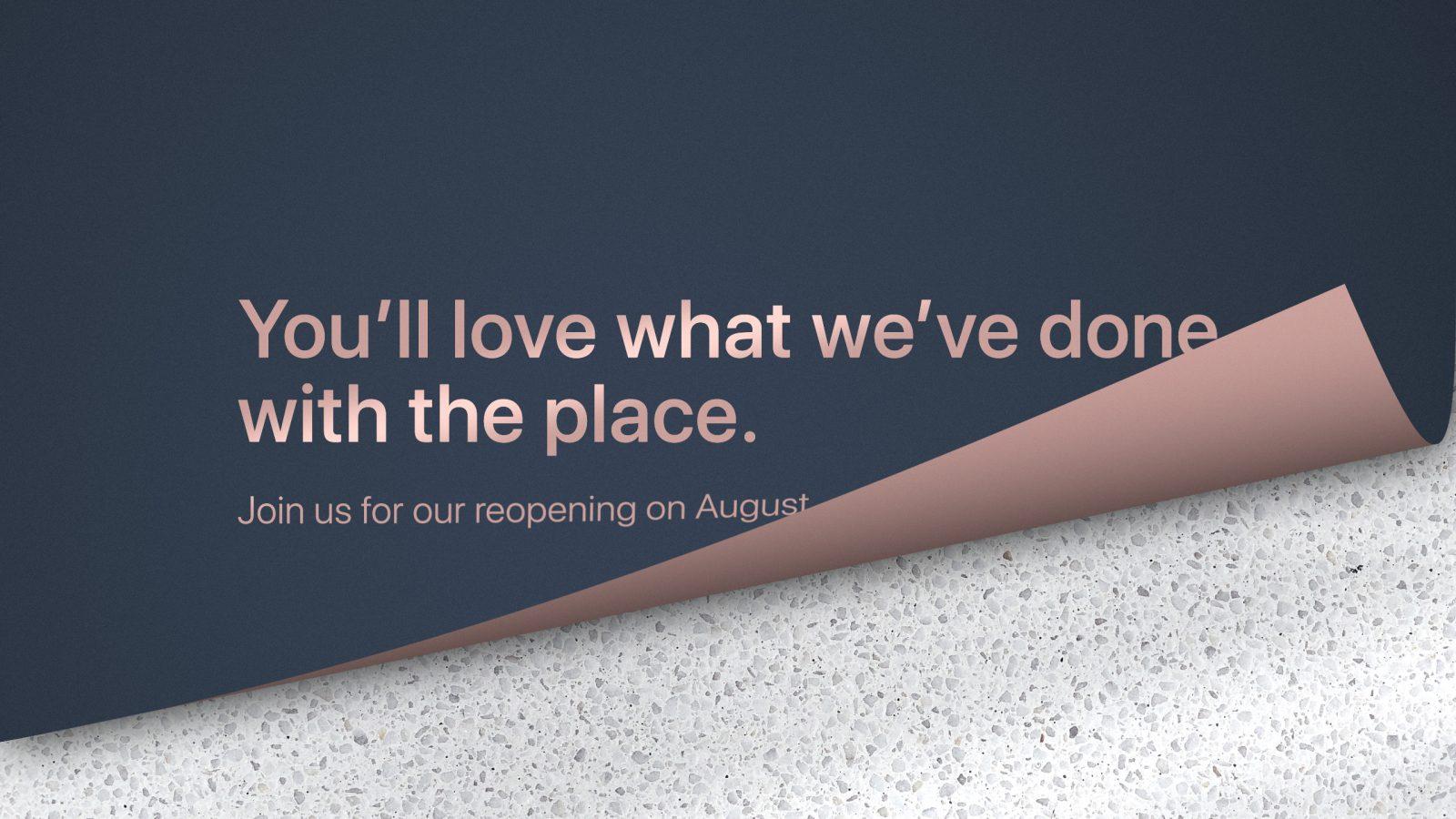Rebuilt Altamonte Springs Apple Store opens August 31st