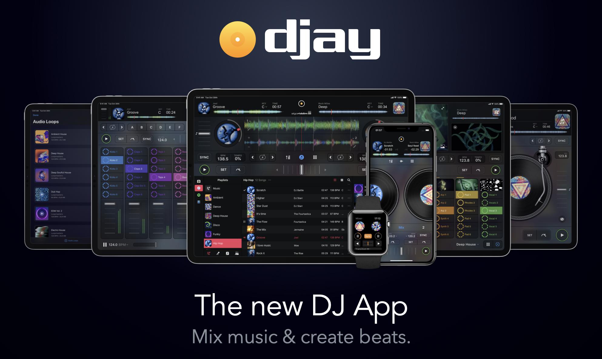 djay for iOS iPad