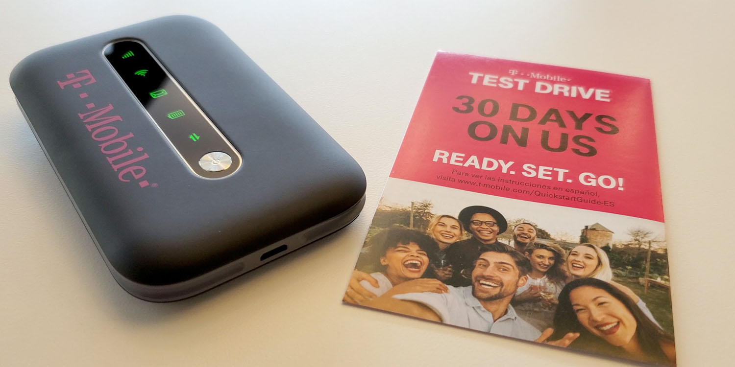 Free mobile hotspot, yours to keep, after T-Mobile 30-day