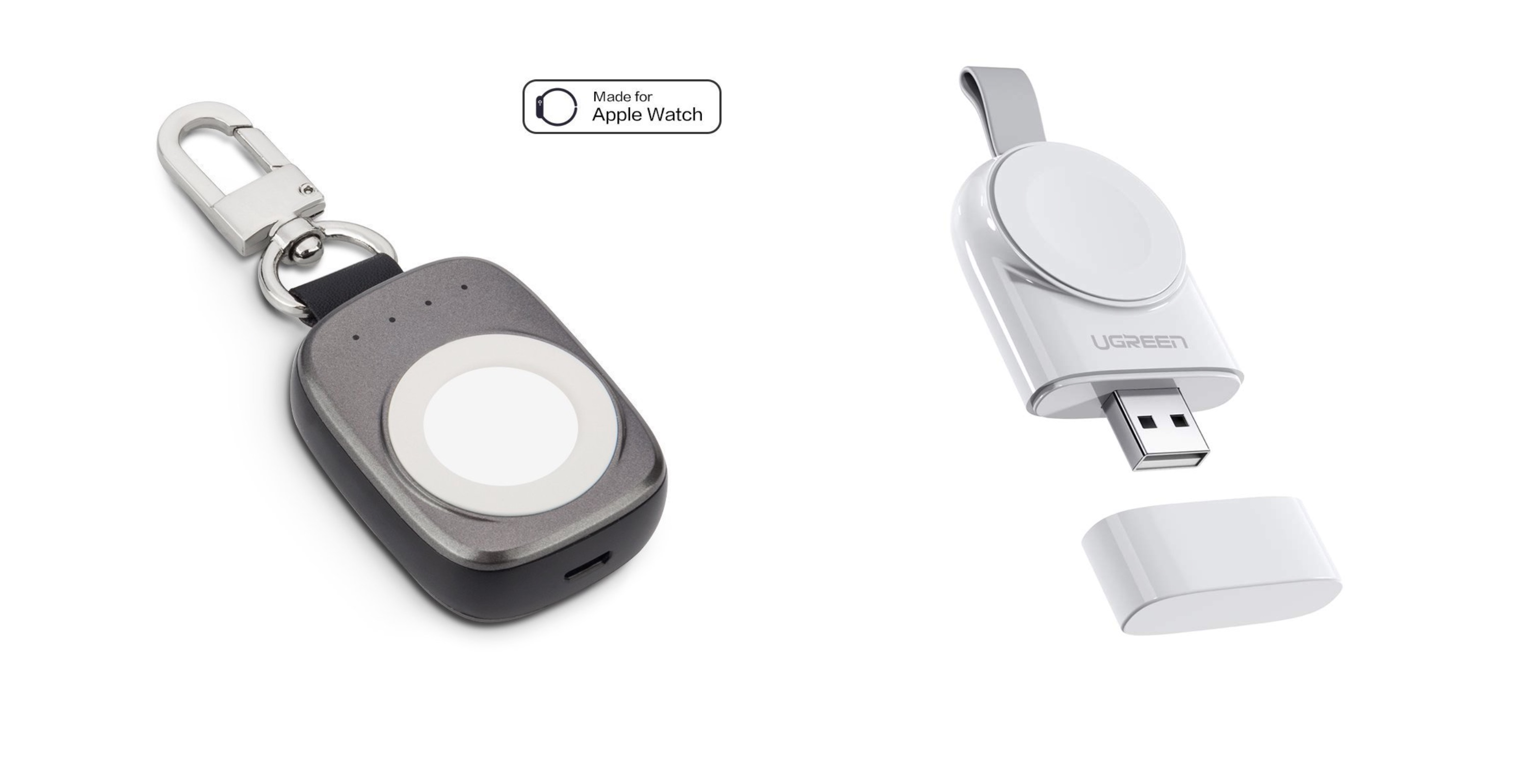 How to extend Apple Watch battery life while traveling portable key ring chargers
