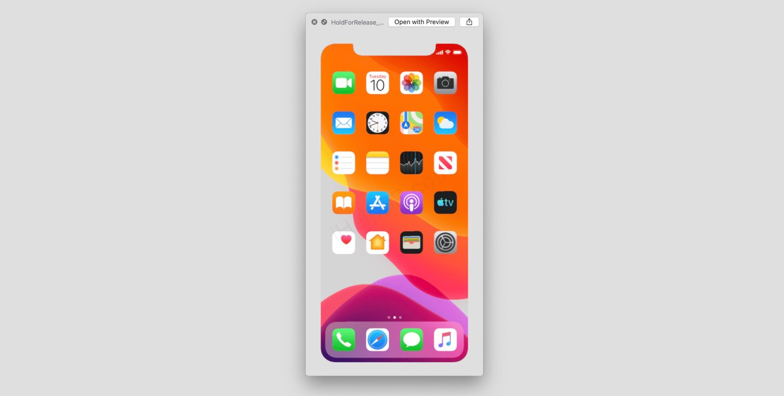 iOS 13 beta asset suggests iPhone 11 Apple event on September 10th