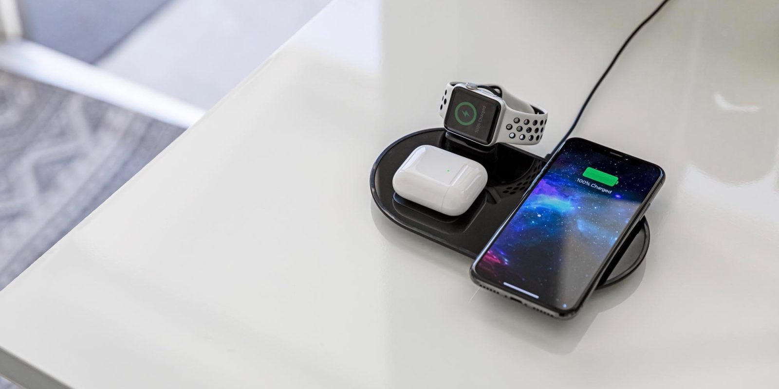 Mophie S New Multi Device Wireless Chargers In Stock At Apple 9to5mac Just set your device down and. multi device wireless chargers
