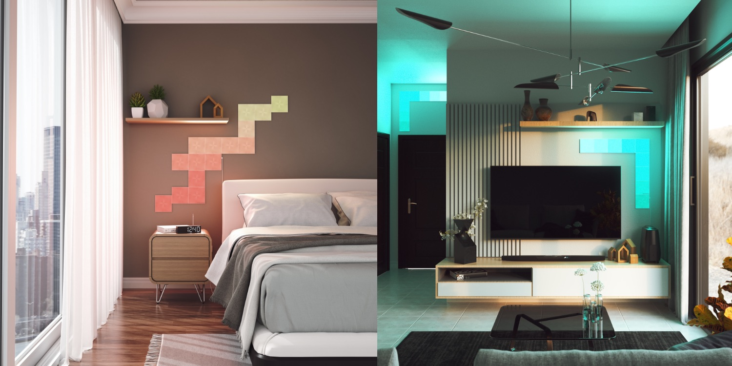 Nanoleaf transforms Canvas smart lights into touch-based HomeKit buttons with Touch Actions