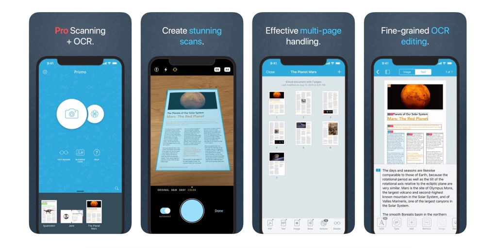 Powerful scanning app Prizmo 5 launches for iPhone and iPad