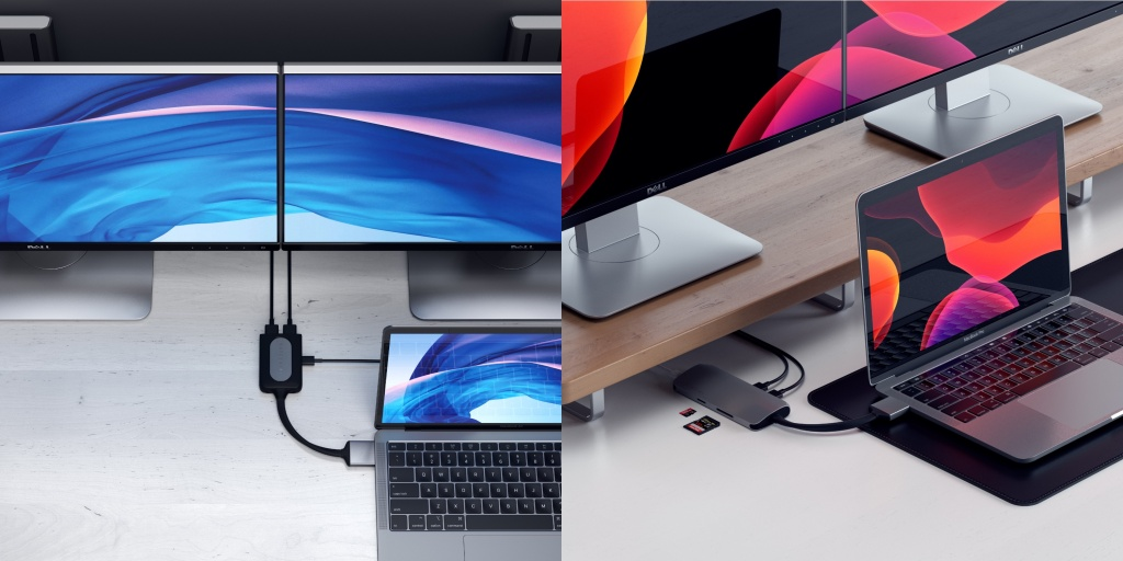 Satechi Launches USB-C Dual Multimedia Adapter with 4K at 60Hz, Ethernet, More for MacBooks