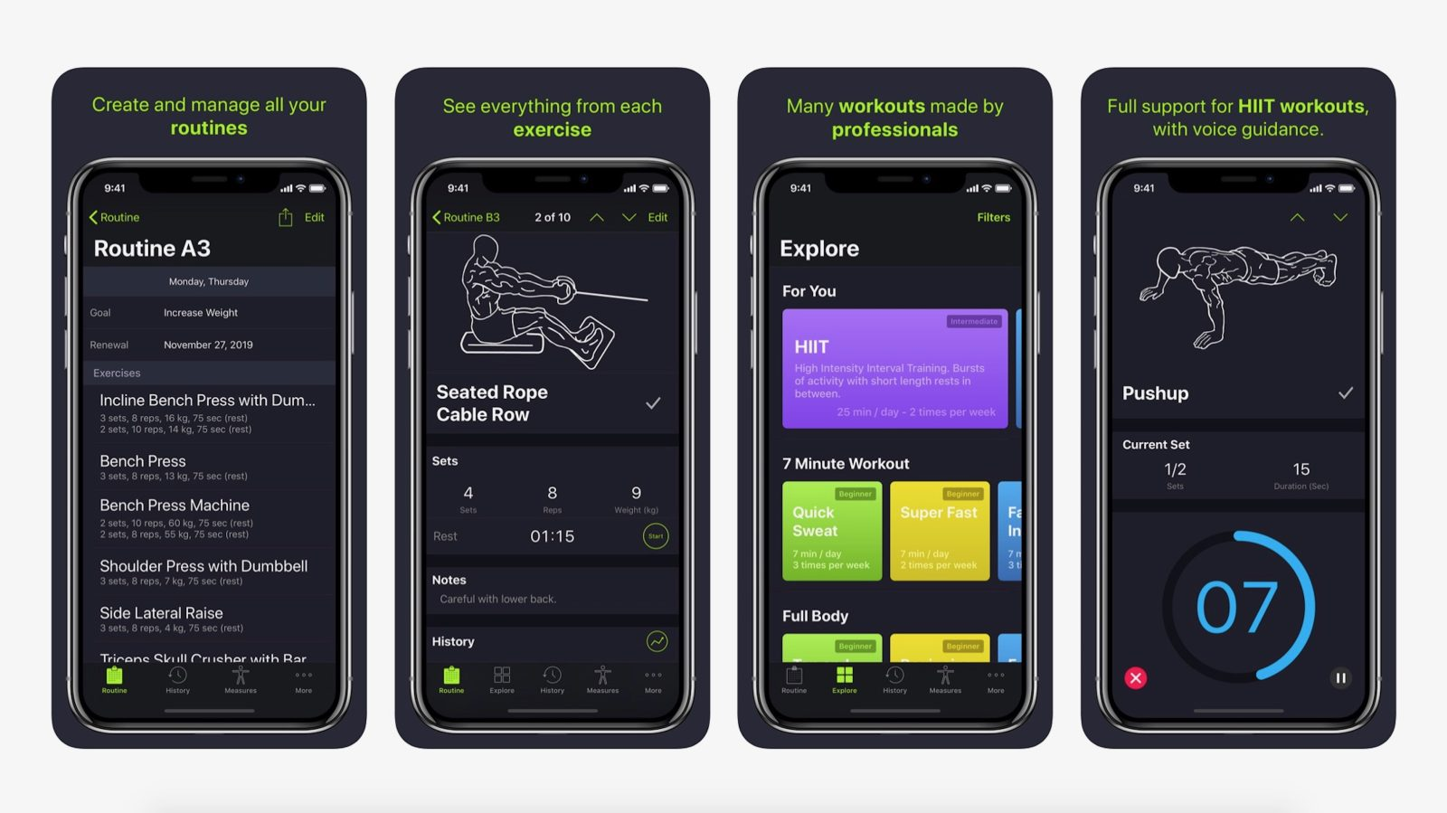 SmartGym app for iOS updated with new Apple Watch app, voice guidance, full HIIT support, more
