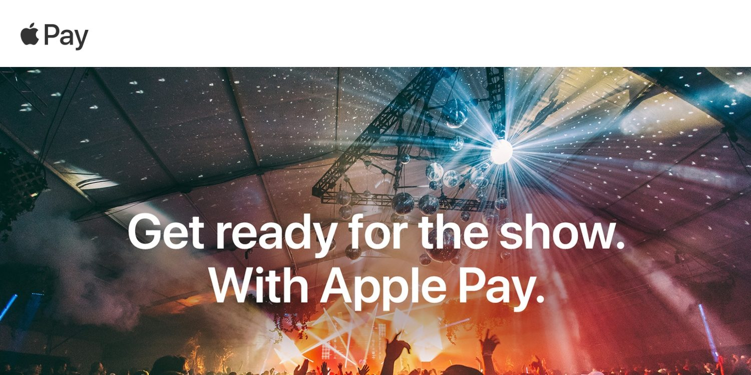 StubHub expanding Apple Pay support to mobile web, currently used for 20% of iOS purchases