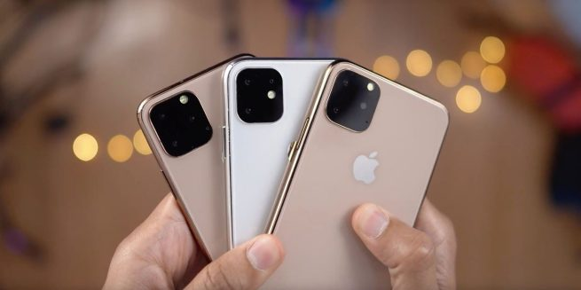 triple-lens cameras for this year's iPhones, production ramping up