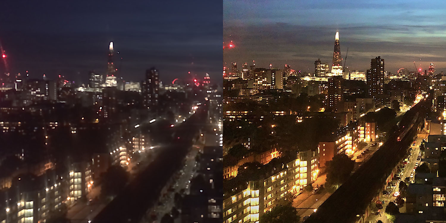 Comparative review: Which is the best iPhone camera app for night shots?