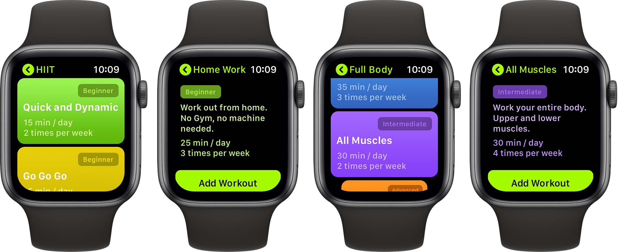SmartGym Apple Watch