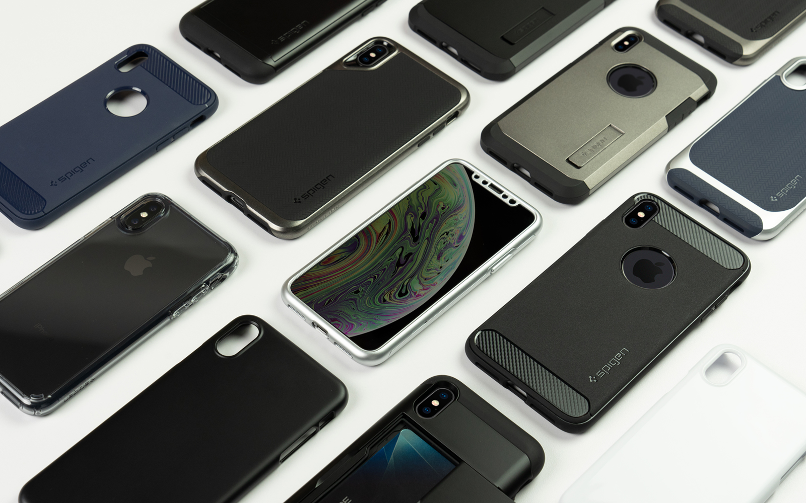 new style 5e1e4 9e24d Spigen's super slim & defensive cases arrive for iPhone XS, iPhone ...
