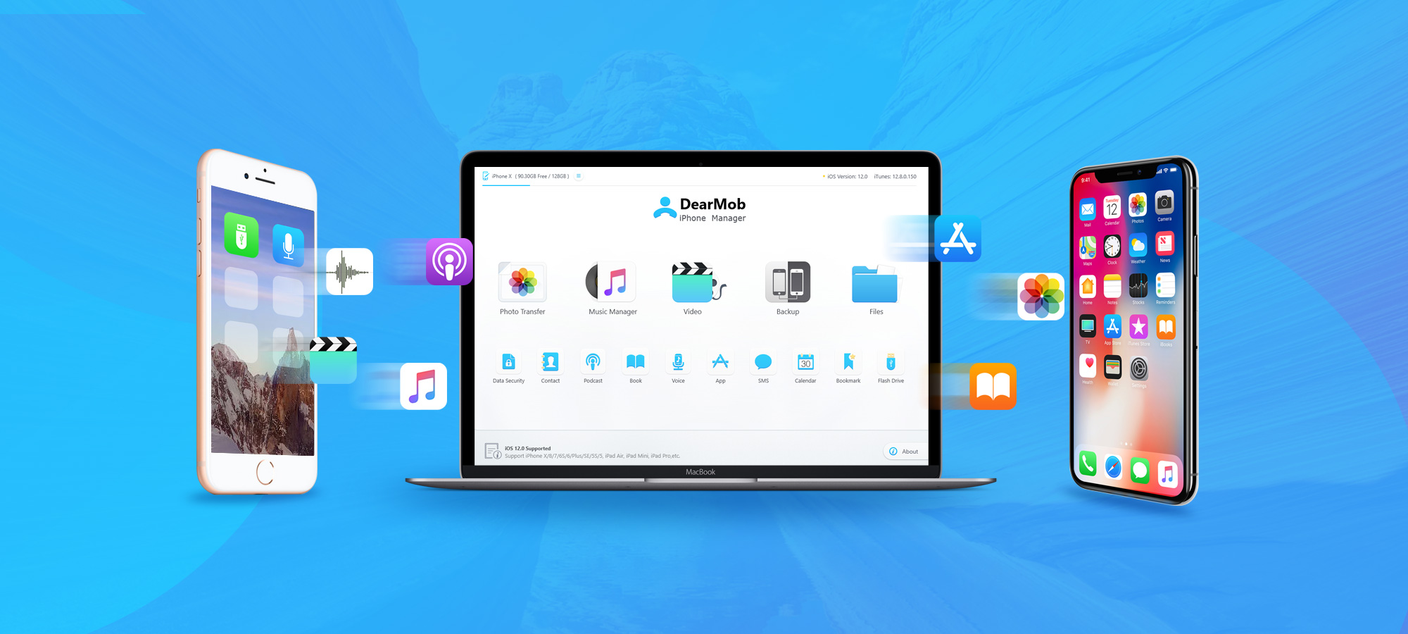 Backup & restore apps & data selectively w/ Dearmob iPhone