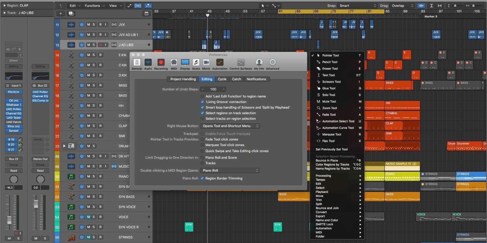 Logic Pros: Customizing your Logic Pro X tools – lightning fast switches, more
