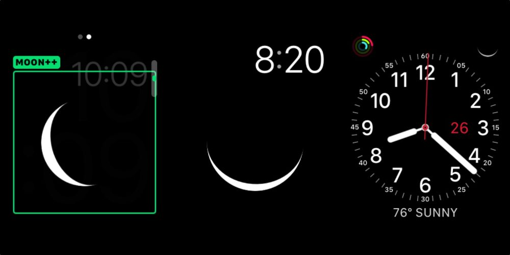 photo of [Update: New name and features] Geneva Moon is a standalone Apple Watch app with an astronomically accurate lunar… image