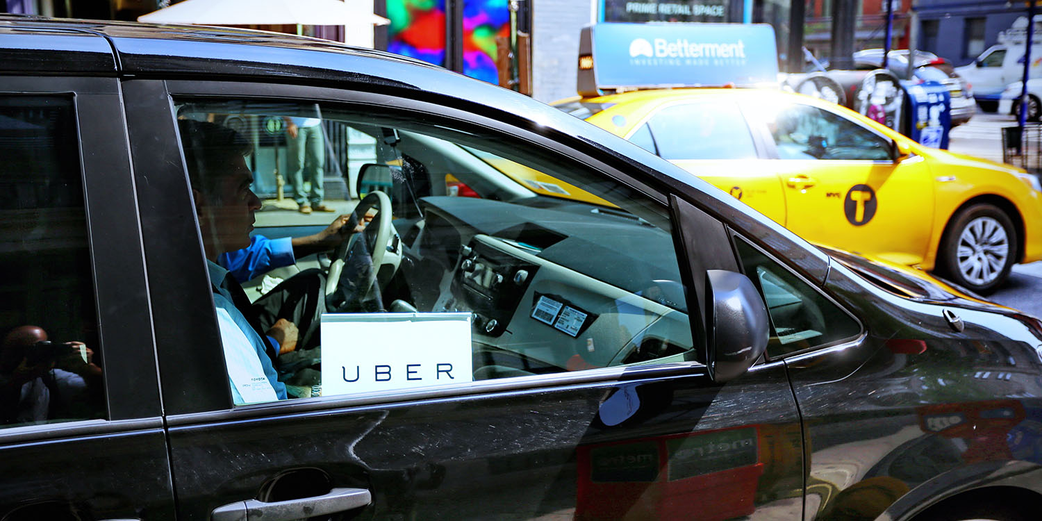 New York Uber drivers are being locked out of app at times of low demand