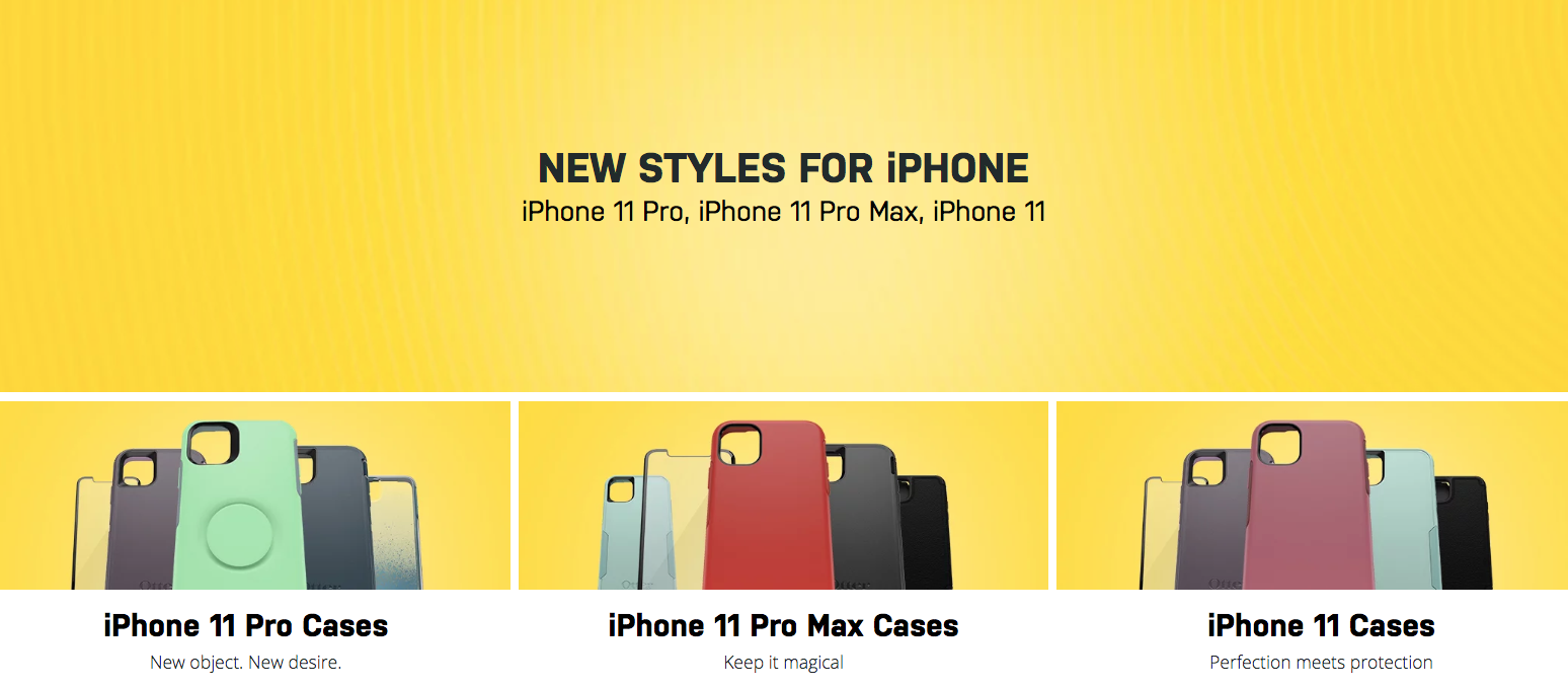 OtterBox 2019 iPhone case lineup