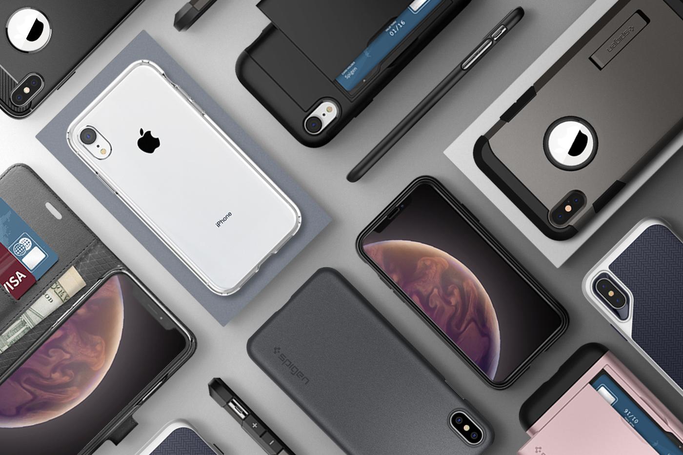 Giveaway iphone xs case wallet spigen