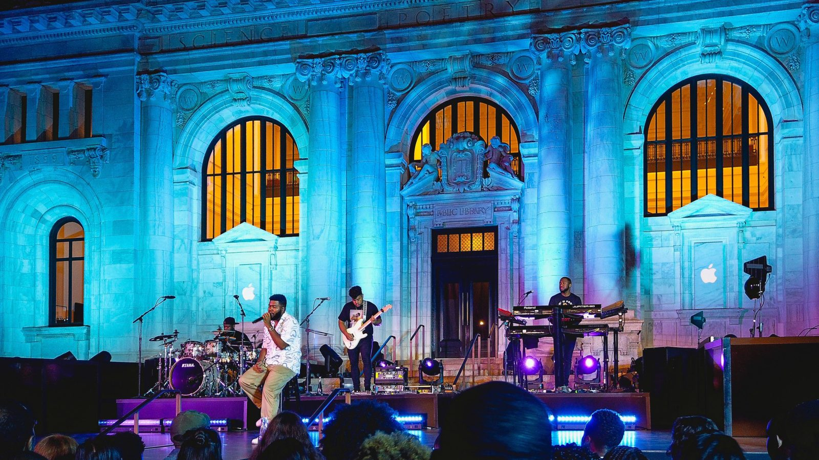 Apple Music releases Up Next Live EPs following summer concert series at Apple Stores