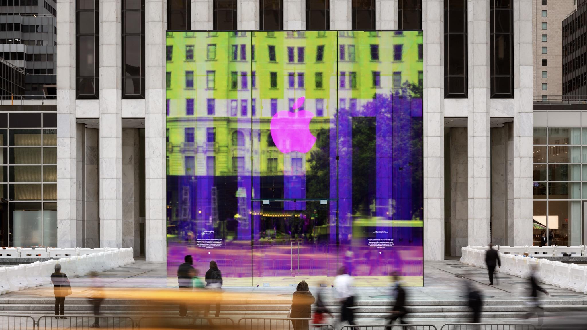 gesto Último Jabeth Wilson  Apple Fifth Avenue's reimagined glass cube opens soon - 9to5Mac