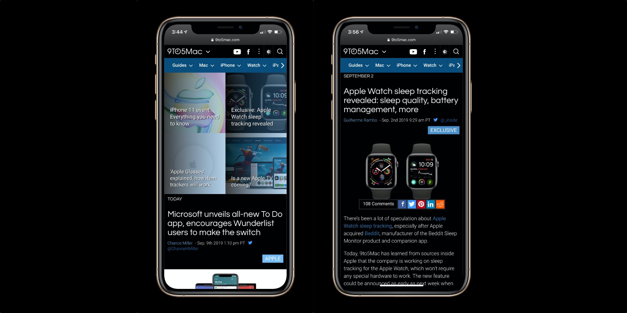 9to5Mac joins the dark side — you can now enjoy automatic Dark Mode on  iPhone, iPad, and Mac - 9to5Mac