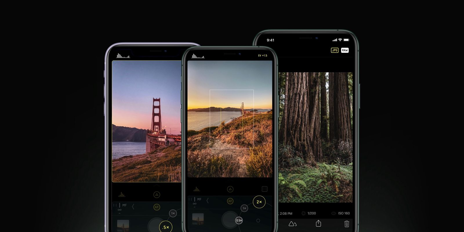 Halide updated for iPhone 11 and 11 Pro with tactile lens switcher, lens guides, and Smart RAW mode