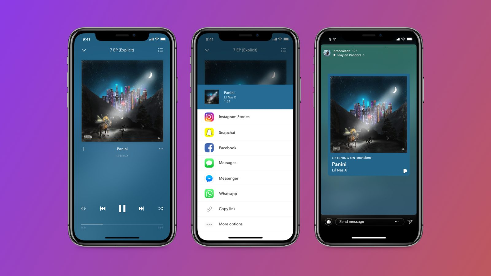 Pandora now integrates with Instagram Stories - 9to5Mac