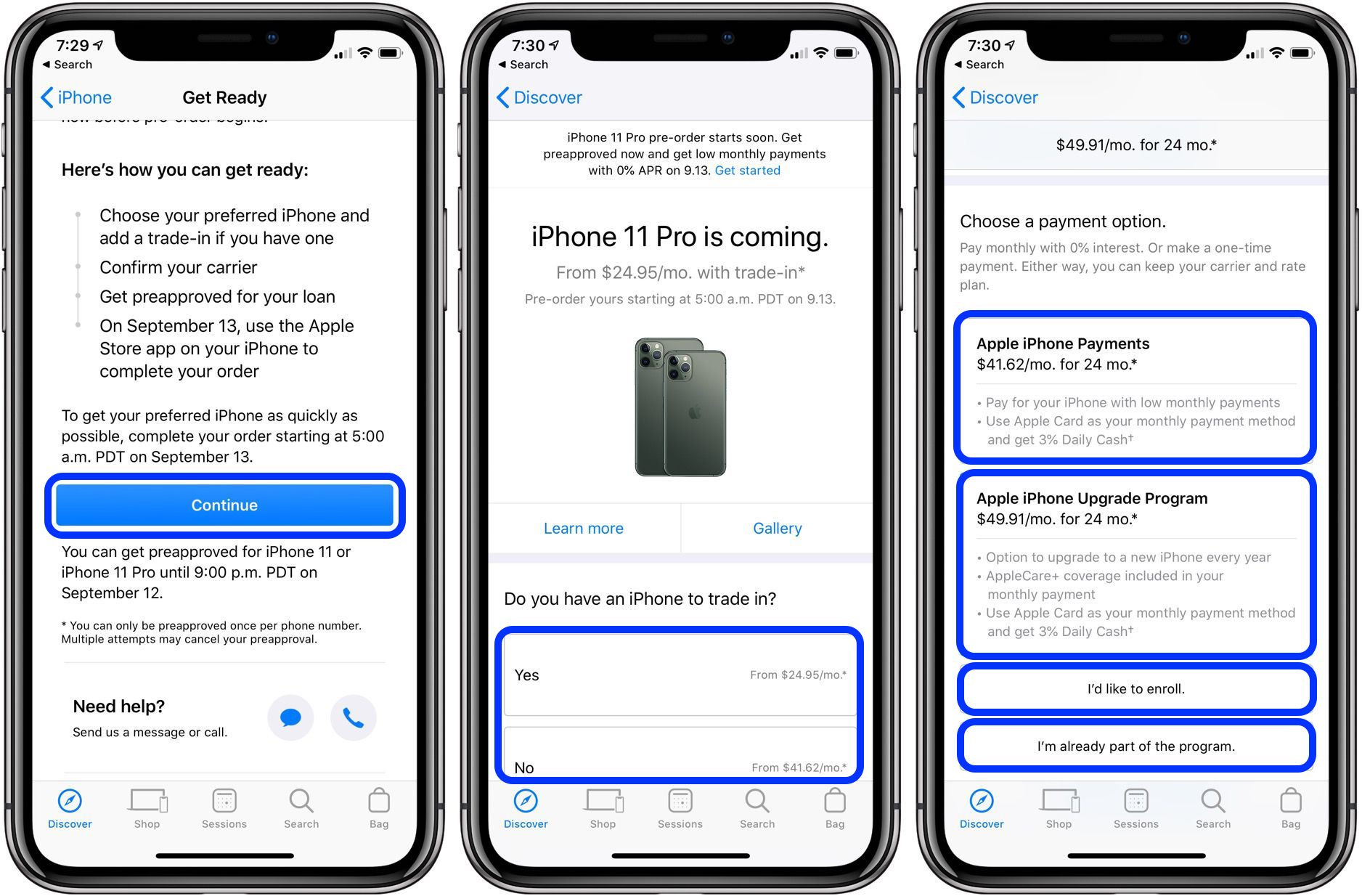 How to get preapproved free iPhone 11 financing walkthrough 2