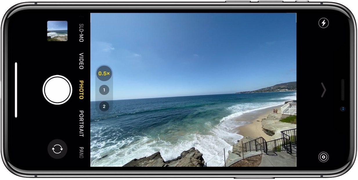 How to use burst mode iPhone 11 camera walkthrough 1